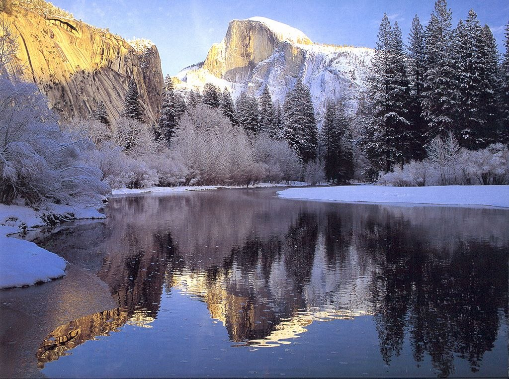 Sfondi per desktop montagne for Paesaggi invernali per desktop